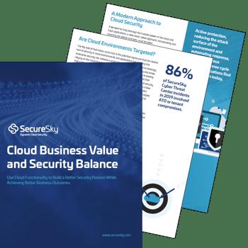 Cloud Security eBook from SecureSky