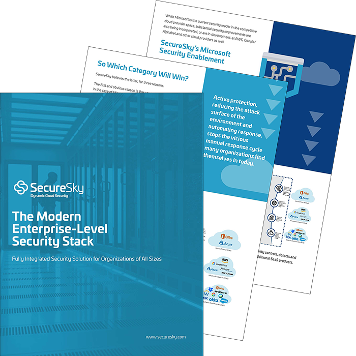 Modern Enterprise Cloud Security Stack eBook