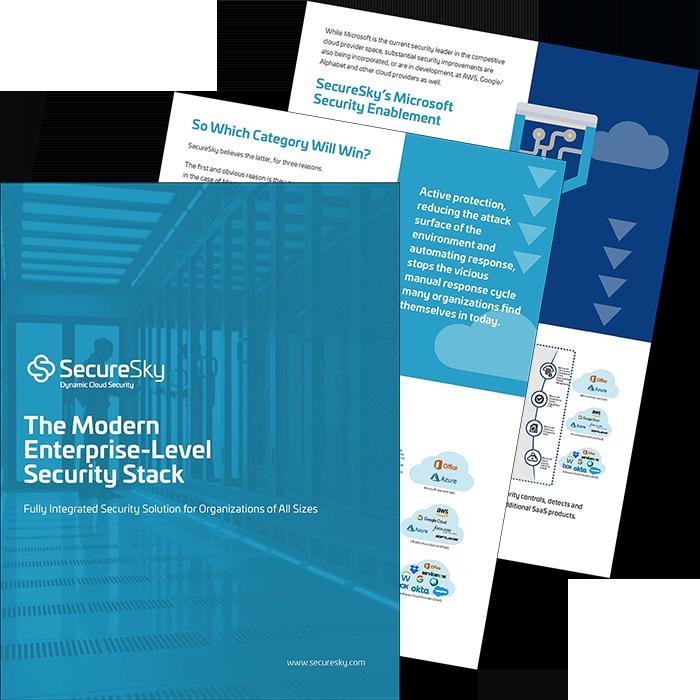 Modern Enterprise Cloud Security Stack eBook